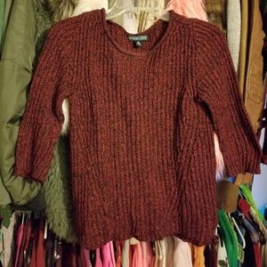 Lauren Ralph Lauren red sweater (worn twice)